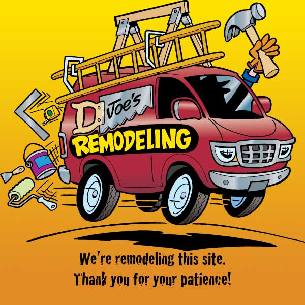We're remodeling this site. Thank you for your patience!